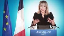 Amanda Lear candidate aux élections présidentielles (enfin
