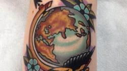 Ces tatouages sont une invitation au