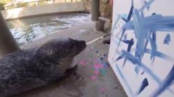 Un zoo vend aux enchères des tableaux peints par ses
