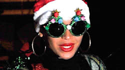 Beyonce's Christmas Tree Outfit Sleighs All Holiday