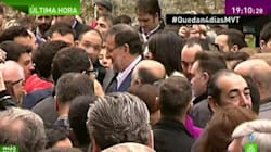 Le premier ministre espagnol frappé en pleine rue avant un