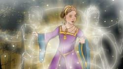Dans ce conte de fées, le personnage principal est une princesse