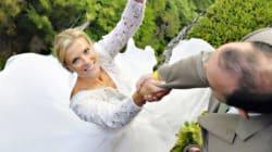 Des photos de mariage littéralement