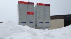 Boîtes postales enneigées: Postes Canada