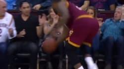 LeBron James Injures Jason Day's Wife Ellie In Sideline