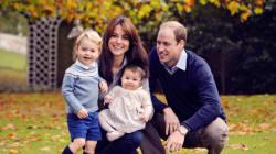 La famille royale vous souhaite un joyeux