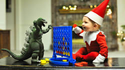 They Turned Their Baby Into A Real-Life Elf On The