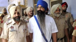 Former Punjab CM's Assassin Balwant Rajoana Thrashes Journalist During Interview In Patiala