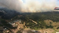 Residents On Alert Near Newcastle As Fires Breach Containment