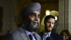 Canada's Defence Minister Visits