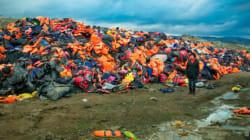 Le «cimetière des gilets de sauvetage» qui en dit long sur la crise des