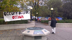 PHOTO: Sleepy Start For Occupy Ottawa Protesters