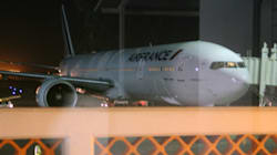 Retired Police Officer Detained After Air France Bomb