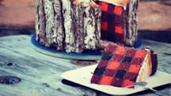 Une bûche de Noël pour hipsters (et bûcherons)