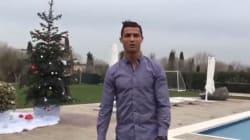 Ronaldo vous fait visiter sa maison à Madrid