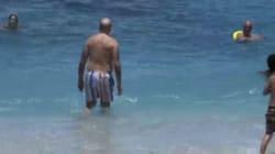 Quand Alain Juppé se jette à l'eau à La