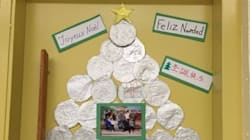 Noël en classe d'accueil, une occasion de partage culturel