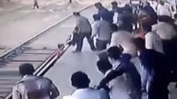 WATCH: Heart-Stopping Moment A Mumbai Commuter Saves A Child From Being Run Over By