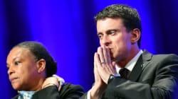 Les appels à la démission de Taubira se multiplient, Valls la