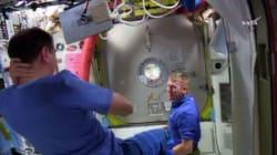 Voici ce que mangent les astronautes dans l'espace à