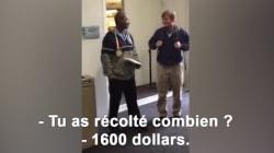 Le joli geste des étudiants pour l'agent de sécurité de leur