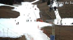 Pas de neige dans votre station de ski? Pas de panique, vous n'allez pas vous