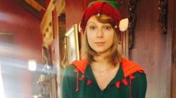 Le lutin Taylor Swift vous souhaite un joyeux