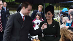 Will And Kate Attend Christmas Services With The