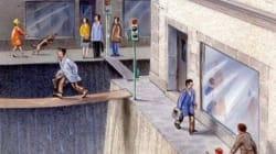 Esta ilustração mostra a parcela de espaço público que dedicamos aos