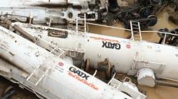 Un train transportant 200.000 litres d'acide sulfurique déraille en