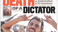Front Pages Mark The Passing Of Libya's Dictator