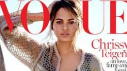 Chrissy Teigen en Une du Vogue pour la première fois