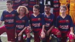 Les moins de 12 ans du Barça interdits de photo avec Raul, ex star du