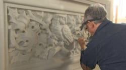 Sculpteur au parlement, un emploi unique en son genre