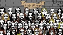 Riuscite a trovare il panda in versione