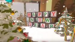 La première carte de vœux en réalité virtuelle et à 360
