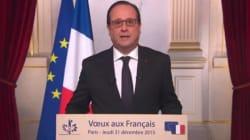 Revivez les vœux du président François Hollande pour