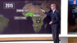 Oups, France 2 a confondu trois pays d'Afrique dans le même