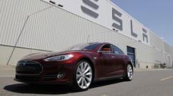 Incendie inexpliqué d'une Tesla pendant son