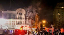 Iranian Protesters Attack Saudi Embassy After Prominent Shiite Cleric