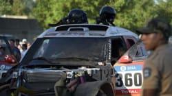 Un accident lors du prologue du Dakar fait 2 blessés