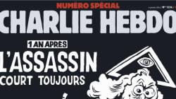 La une de «Charlie Hebdo» un an après la