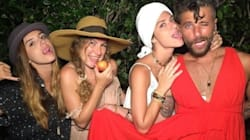 Jaden Smith fazendo escola: Bruno Gagliasso vai à festa de vestido