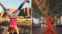 The Instagram Star Who Is Not Quite A Yogini, And It's Making People Feel