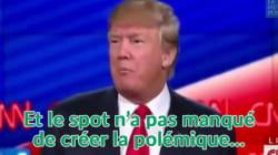 Premier spot TV pour Donald Trump, énième