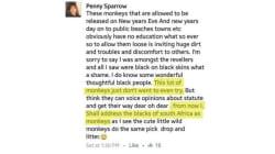 Cette publication Facebook raciste cause un tollé en Afrique du