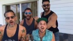Marc Jacobs et ses amis rejouent une scène culte de