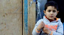 Refugiados sírios: Eles ficam, mas no quartinho dos