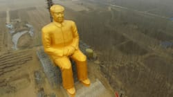 En Chine, cette statue géante fait polémique