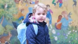 Prince George's First Day Of School Photos Are Too